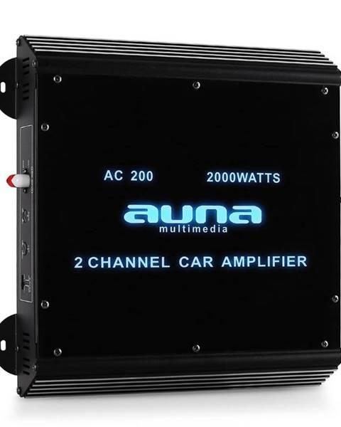 Auna Auna W2-Ac200, 2-kanálový zesilovač do auta, 2000W