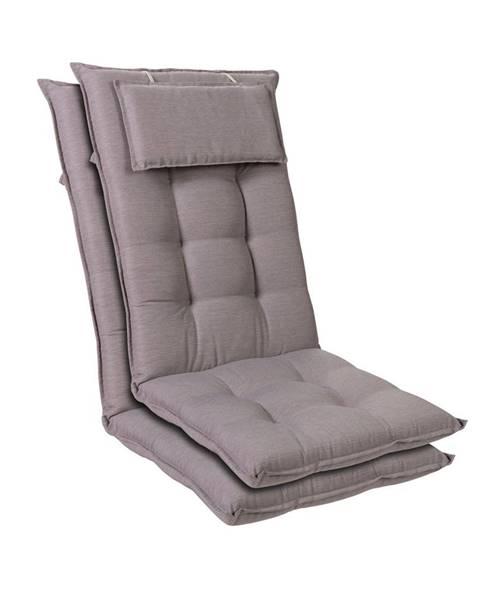 Blumfeldt Blumfeldt Sylt, čalouněná podložka, podložka na židli, podložka na výše polohovací křeslo, polštář, polyester, 50 × 120 × 9 cm