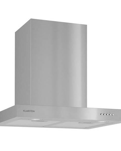Klarstein Klarstein Zarah, odsavač par, ušlechtilá ocel, 60 cm, 620 m3/h, montáž na stěnu, LED