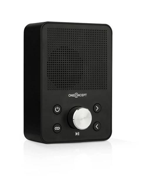 OneConcept OneConcept Plug+Play FM, rádio do zásuvky, FM tuner, USB, BT, černé