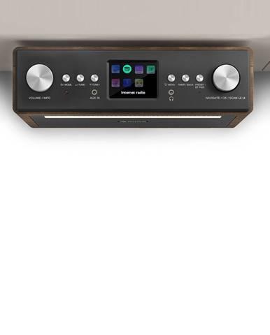 """Auna Connect Soundchef, kuchyňské rádio, instalovatelné na spodní stranu skříňky, internet, DAB +, FM, 2x3 """"reproduktory, bílá barva"""