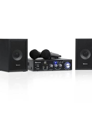 Auna Karaoke Star 2, karaoke sada, 2 x 50 W max., BT, USB/SD, Line-In, 2 x mikrofon