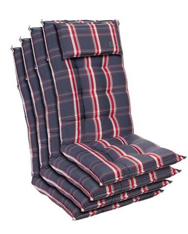 Blumfeldt Sylt, čalouněná podložka, podložka na židli, podložka na výše polohovací křeslo, polštář, polyester, 50 × 120 × 9 cm