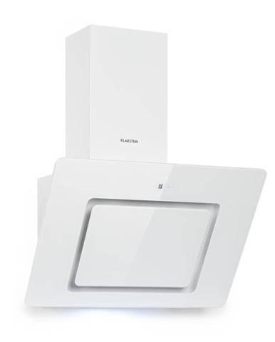 Klarstein Sofia 60, digestoř, 300 m³/h, dotykové ovládání, skleněná přední strana, bílá