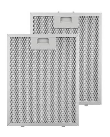 Klarstein tukový filtr, náhradní filtr, hliník, 24,4x31,3 cm, 2 kusy, příslušenství
