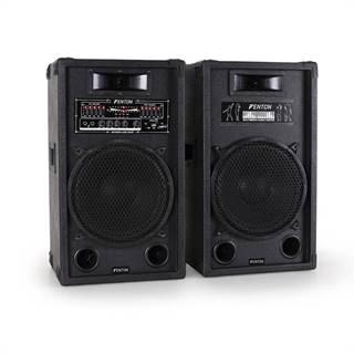 Skytec Aktivní set reproduktorů SPA1200, 1200W, USB-SD-MP3