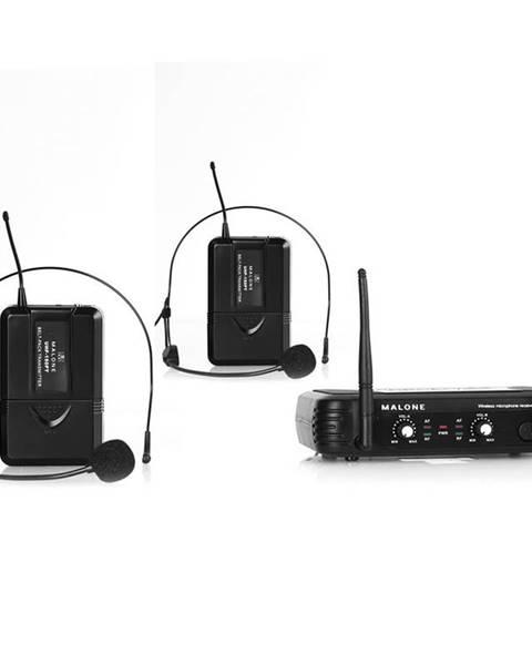 Malone Bezdrátový mikrofonní set Malone UHF-250 Duo2, 2 kanály