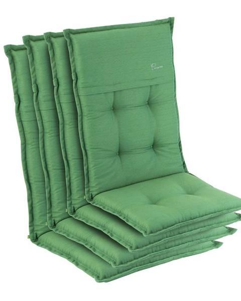 Blumfeldt Blumfeldt Coburg, sedák na křeslo, vysoké opěradlo, zahradní stolička, polyester, 53x117x9cm