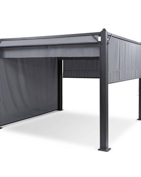 Blumfeldt Blumfeldt Pantheon Cortina, altán se střechou, 3x3m, 4 boční části, šedý