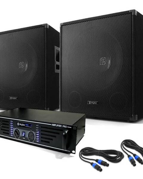 "Electronic-Star Electronic-Star DJ set ""Lewis 1200 Bass Tornado"", 38 cm, 1200W"