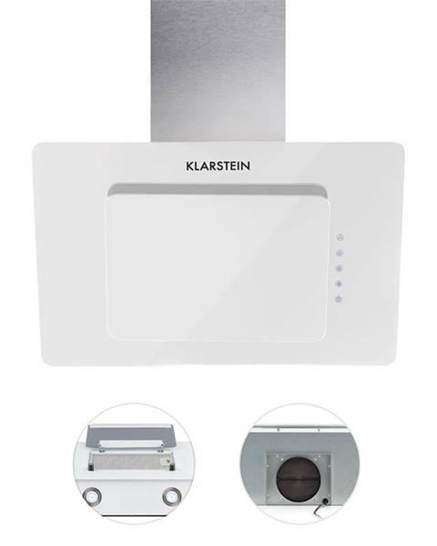 Klarstein Klarstein Lore, bílý, 60 cm, 280 m3/h, odsavač par, volný prostor pro hlavu, dotykový, sklo