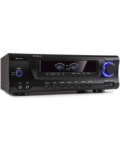 Auna AMP 3800 BT, Hi-Fi zesilovač, 2x 120 W + 3x 50 W RMS, BT, černý
