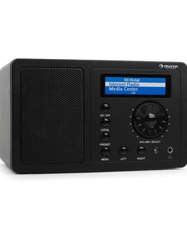 Auna IR-130 internetové rádio, WLAN, černé, streaming