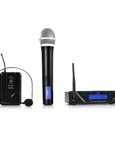 Bezdrátový mikrofonní set Malone UHF-450 Duo, 2 kanály
