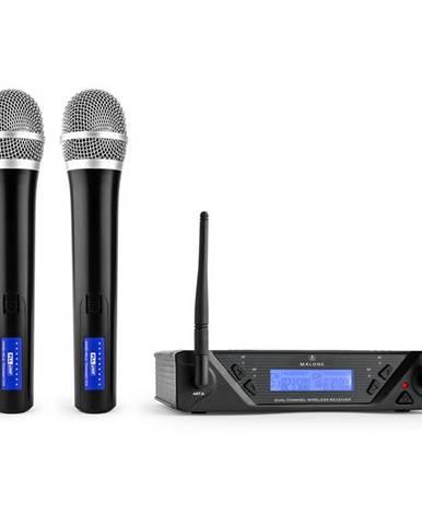 Bezdrátový mikrofonní set Malone UHF-450 Duo1, 2 kanály