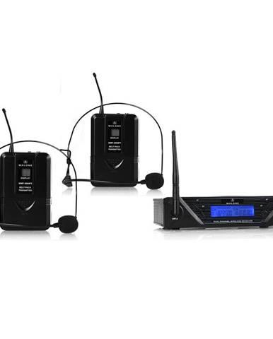 Bezdrátový mikrofonní set Malone UHF-450 Duo2, 2 kanály