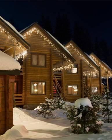 Blumfeldt icicle-320-ww led vánoční osvětlení, rampouchy, 16m, 320 led světélek, teplá bílá barva