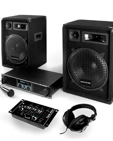 Electronic-Star Bass Boomer, USB PA systém, 400 W, repro, zesilovač, USB mixer, mikrofon