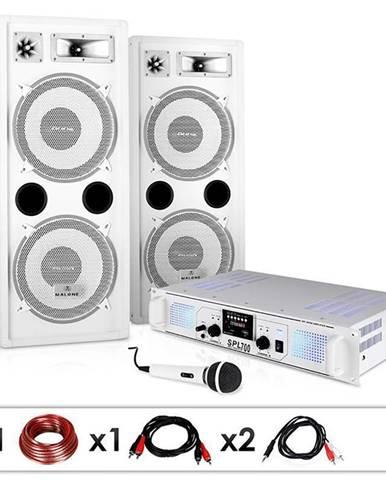 """Electronic-Star DJ PA systém """"DJ-22"""", zesilovač, reproduktory, 1000 W"""