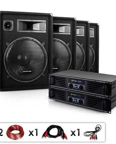 "Electronic-Star Kompletní DJ set ""Miami Quasar Pro"", 2x zesilovač, 4x repro"