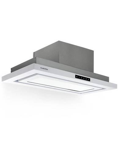 Klarstein Lumiere, digestoř, LED, 70 cm, energetická třída A, 750 m³ / h, 3 úrovně, bílý