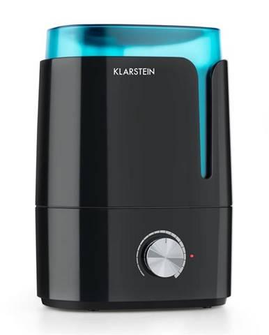 Klarstein Stavanger, zvlhčovač vzduchu, aromatická funkce, ultrazvuk, 3.5 l, černý/tyrkysový