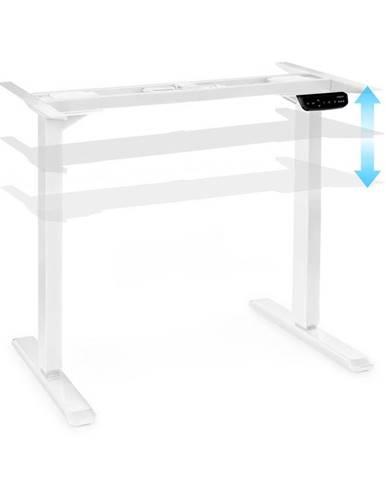 OneConcept Multidesk Comfort, výškově nastavitelný psací stůl, elektrický, výška 62–128 cm, bílý