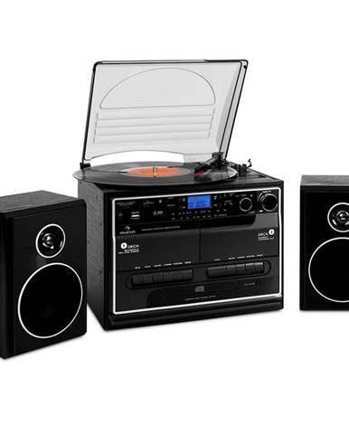 Stereo zařízení Auna 388-BT, gramofon, magnetofon, bluetooth