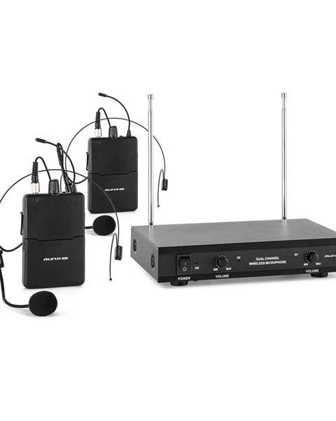 Auna Pro Auna Pro VHF-2-HS 2kanálová VHF mikrofonní sada 2x headset 50 m