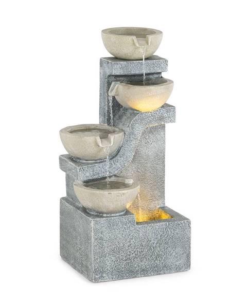 Blumfeldt Blumfeldt Delos, fontána, LED, interiér a exteriér, 5 m kabel, cement, šedá