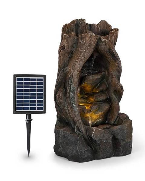 Blumfeldt Blumfeldt Magic Tree, solární fontána, 2,8 W, polyresin, 5 hod., Akumulátor, LED osvětlení, vzhled dřeva