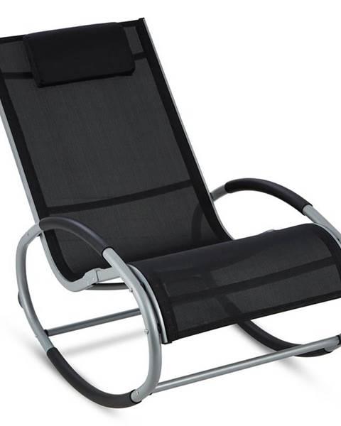 Blumfeldt Blumfeldt Retiro, houpací křeslo, hliník, polyester, černé
