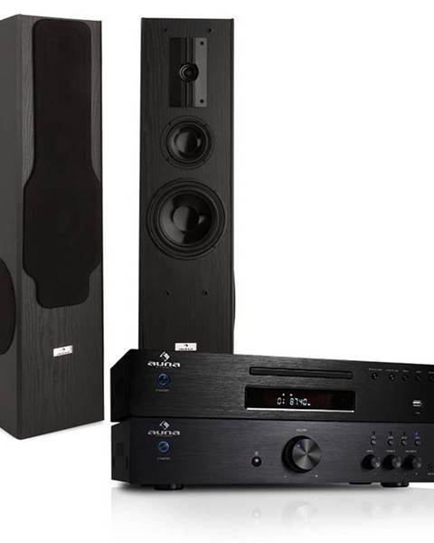 """Electronic-Star Electronic-Star HiFi systém """"Elegance"""" - 600 W Zesilovač, CD MP3 přehrávač"""