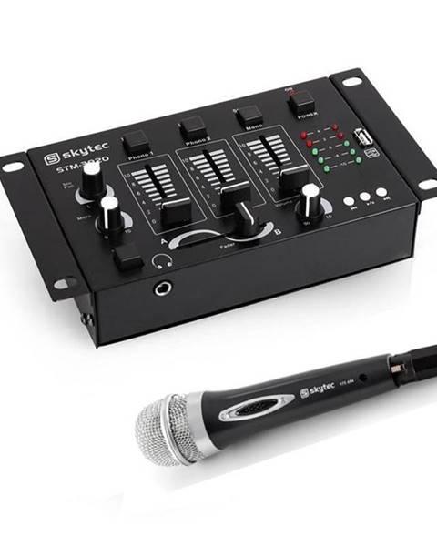 Electronic-Star Electronic-Star Mini DJ set, 3/2 kanálový mixážní pult, ruční mikrofon
