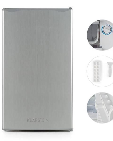Klarstein Klarstein Alleinversorger, ušlechtilá ocel, lednička, 90 l, třída A +, 2 patra mrazicího oddílu
