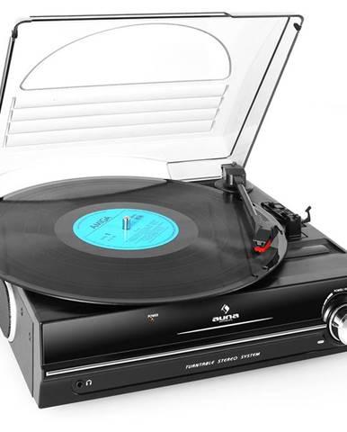 Auna 928, gramofon, integrované reproduktory, 33/45 RPM
