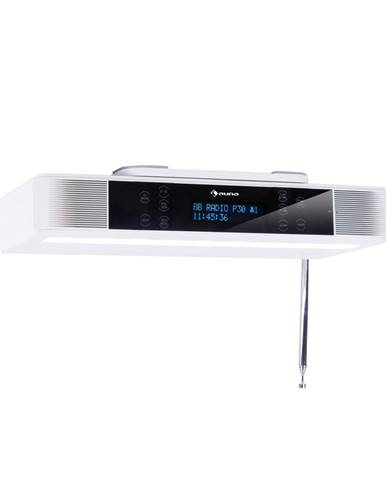 Auna KR-140, kuchyňské rádio, bluetooth, handsfree, LED osvětlení, bílé