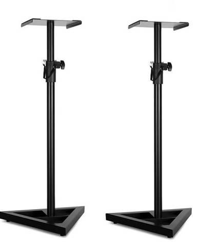 Auna Monitor Stand 5, pár reproduktorových stojanů, černá