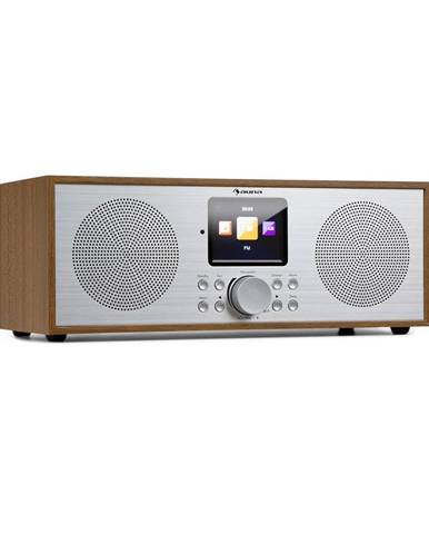 Auna Silver Star Stereo, internetové DAB+/FM rádio, WiFi, BT, DAB+/FM, dub