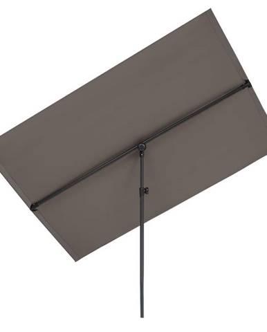 Blumfeldt Flex-Shade XL slunečník, 150 x 210 cm, polyester, UV 50, tmavě šedý