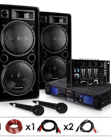 "Electronic-Star DJ set ""DJ-20.1"" zesilovač, reproduktory, 2000 W"