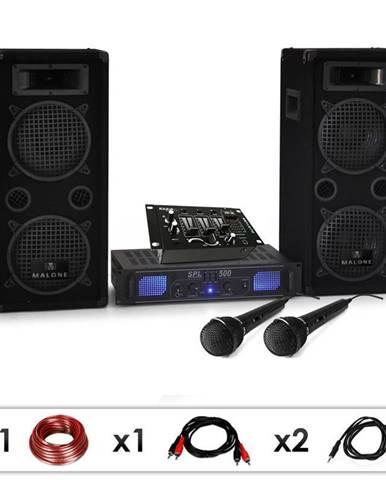 Electronic-Star DJ set DJ-25M, zesilovač, reproduktory, mixpult, 1600 W