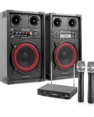 Electronic-Star Karaoke set STAR-Mitte, reproduktory, bezdrátový mikrofon