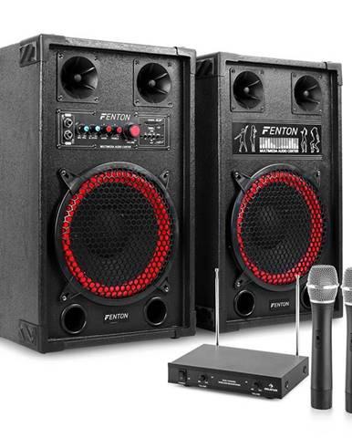 """Electronic-Star Karaoke zařízení """"STAR-Neukölln"""" reproboxy rádio mikrofon"""