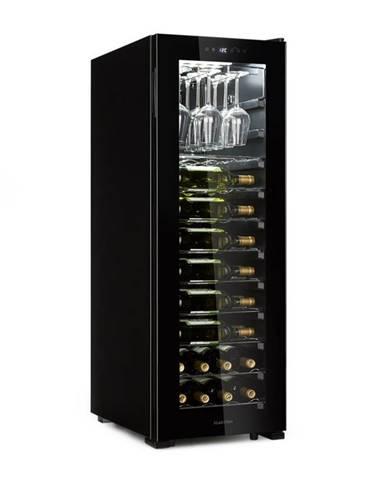 Klarstein Bellevin 62, vinotéka, 56 lahví, 5 - 20 °C, energetická třída G, černá