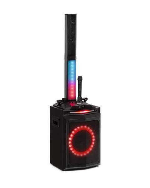 """Auna Auna Clubmaster Tube, party zvukový systém, 150 W max., 10"""" oofer, USB, BT, AU, černý"""