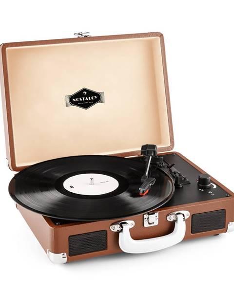 Auna Auna Peggy Sue, retro gramofon, LP, USB, hnědý