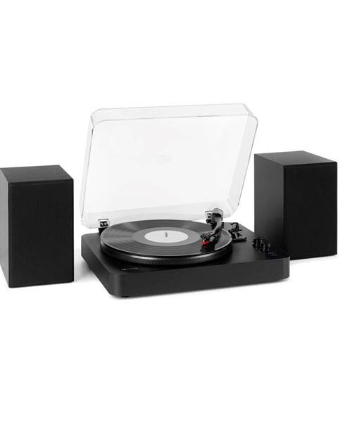 Auna Auna TT-Play SE, gramofon, reproduktor, 20 W max., BT, pitch control, černý