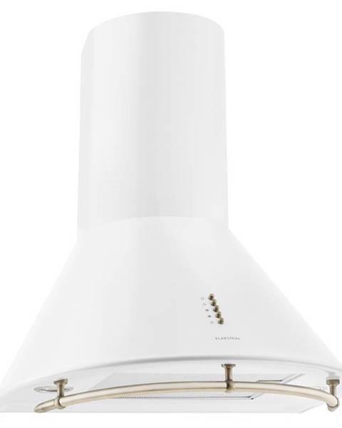 Klarstein Klarstein Noir Prima, bílý, 60 cm, 430 m3/h, retro komínový odsavač par, nerez