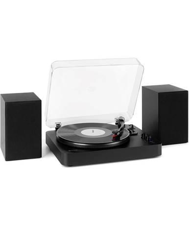 Auna TT-Play SE, gramofon, reproduktor, 20 W max., BT, pitch control, černý